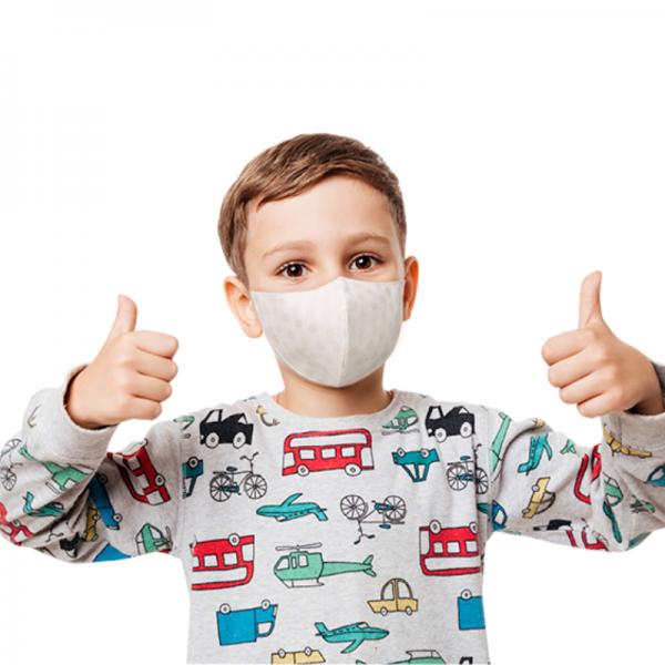 Mascherina Lavabile e Riutilizzabile Colorata per Bambino