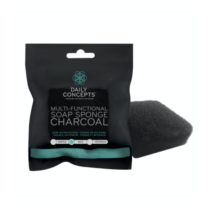 MULTI-FUNCTIONAL SOAP SPONGE CHARCOAL1