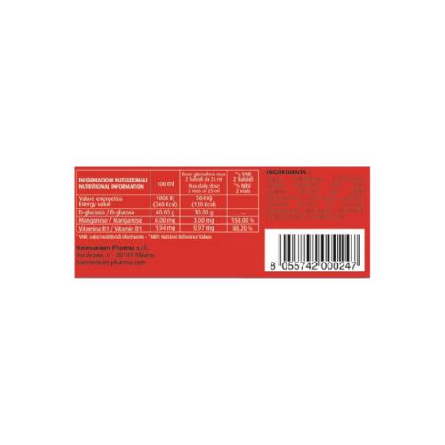 970517900 Harmonium Glucosprint Plus - Integratore alimentare 6FL 25ml retro