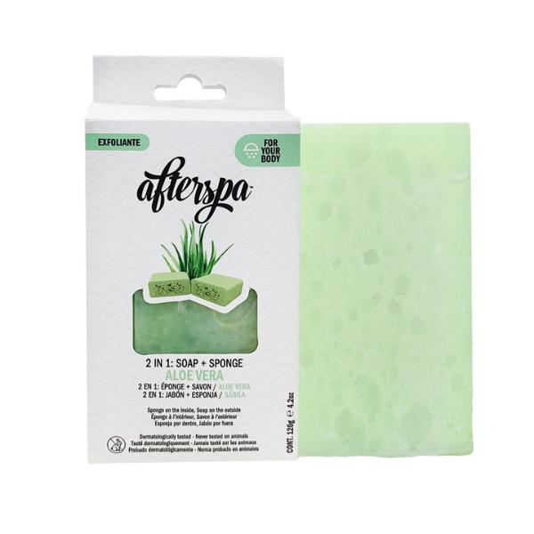 Afterspa - spugna sapone prodotto